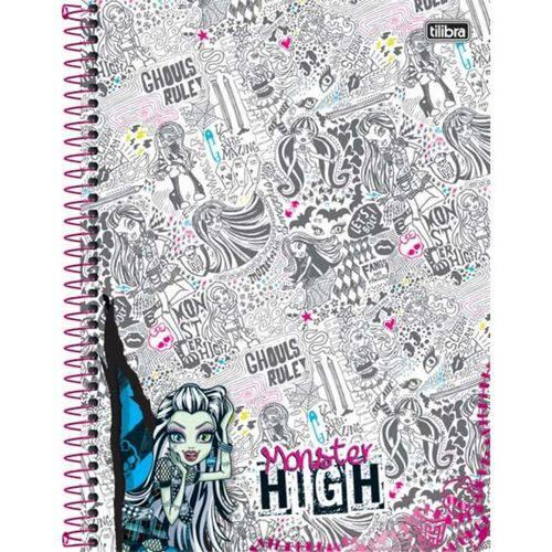 Caderno Universitário Monster High 200 Folhas
