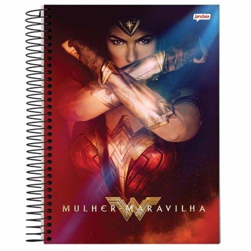 Caderno Universitário Mulher Maravilha 1 Matéria Jandaia 1025844
