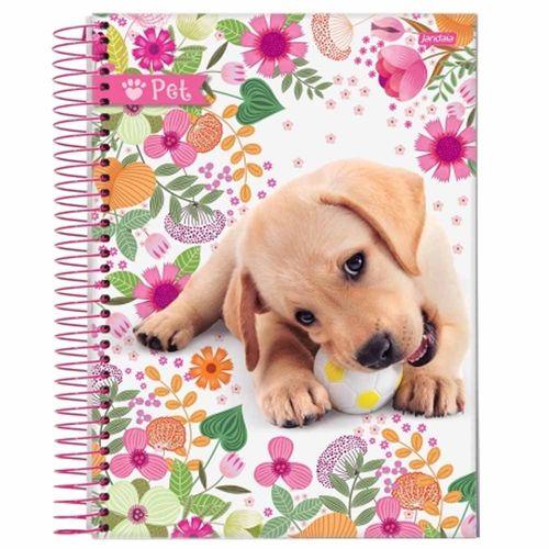 Caderno Universitário Pet 10 Matérias Jandaia 132076