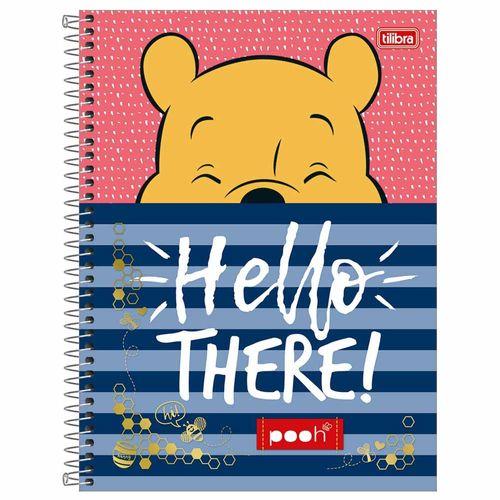 Caderno Universitário Pooh 1 Matéria Tilibra 1012683