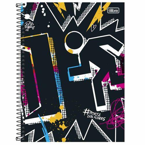 Caderno Universitário Porta dos Fundos 10 Matérias Tilibra 1000846
