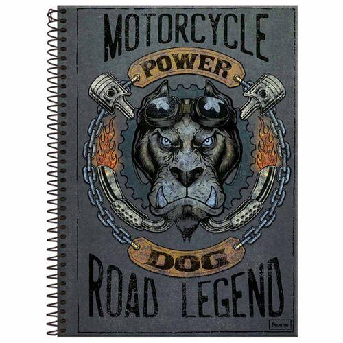 Caderno Universitário Power Dog 10 Matérias Foroni 240618
