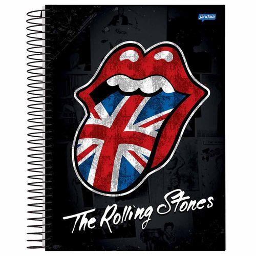 Caderno Universitário Rolling Stones 10 Matérias Jandaia 132515