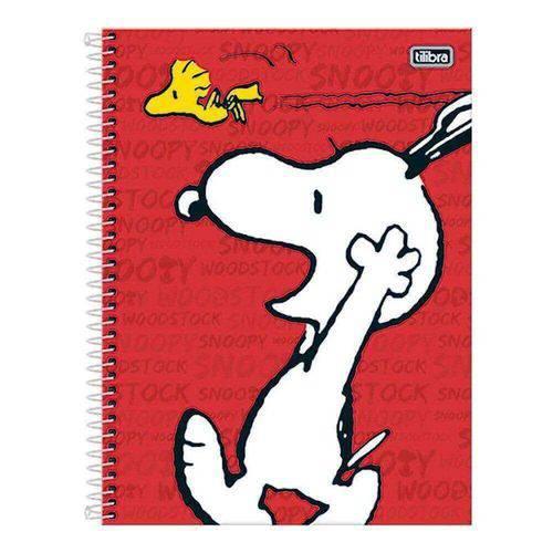 Caderno Universitário Snoopy 10m 200 Folhas Grafons