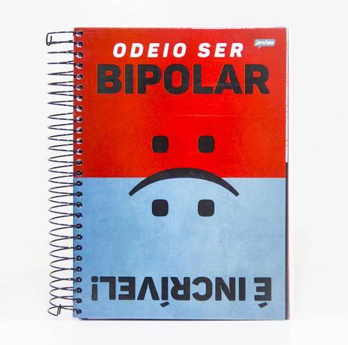 Caderno Universitário Sortido 15 Matérias - Placas Humor