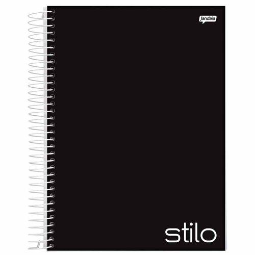 Caderno Universitário Stilo Preto 1 Matéria Jandaia 1027737