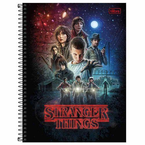 Caderno Universitário Stranger Things 10 Matérias Tilibra 1027934