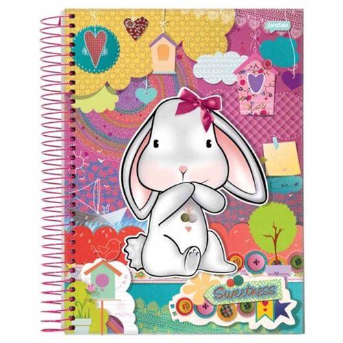 Caderno Universitário Sweetness 1 Matéria Jandaia 1014783