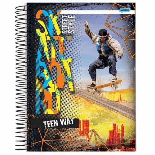 Caderno Universitário Teen Way 1 Matéria Jandaia 1014790