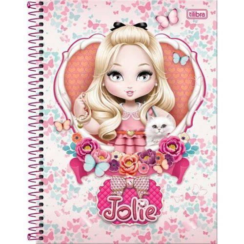 Caderno Universitário Tilibra Jolie - 96 Folhas