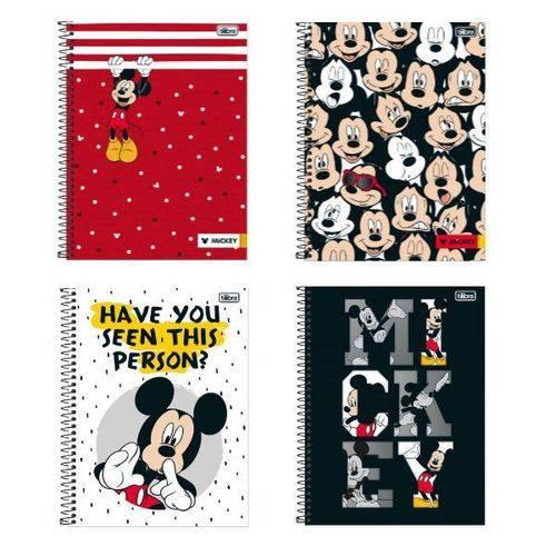 Caderno Universitário Tilibra Mickey 200 Folhas