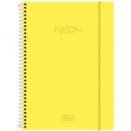 Caderno Universitário Tilibra Neon