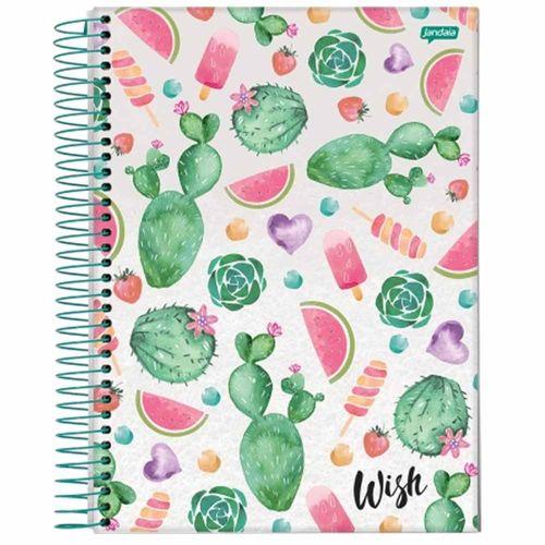 Caderno Universitário Wish 10 Matérias Jandaia 132505