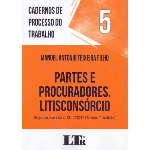 Cadernos de Processo do Trabalho N.05 - 01ed/18
