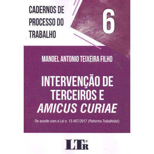 Cadernos de Processo do Trabalho N.06 - 01ed/18