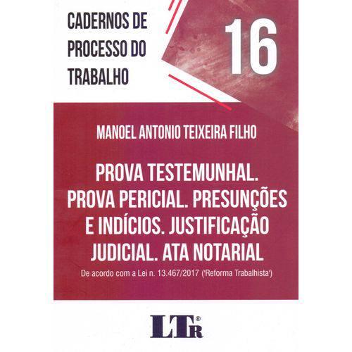 Cadernos de Processo do Trabalho N.16 - 01ed/18