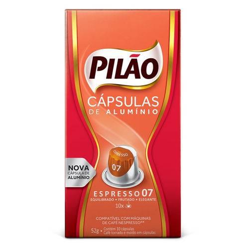 Cafe Capsula Espresso Pilao 07 52GR C/10 Unidades