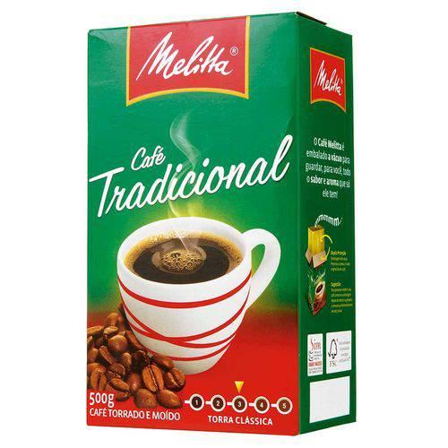 Café Melitta a Vácuo Tradicional 500grs - Melitta