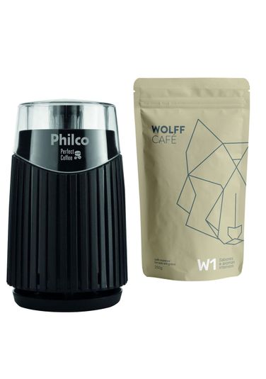Café + Moedor Elétrico Philco W1 - 110v