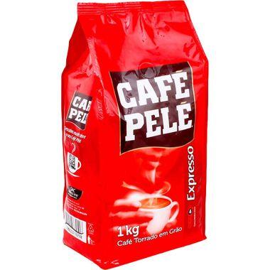 Café Pelé Torrado em Graos 1kg