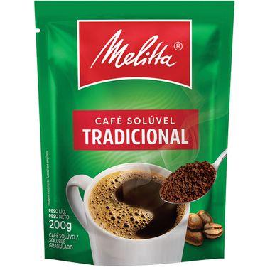 Café Solúvel Melitta 200g Cx. C/ 12 Un.