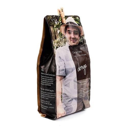 Café Torrado em Grãos Pedro Brás 2018 / Caramelo - 250g
