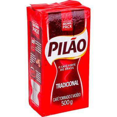 Café Tradicional a Vácuo Pilão 500g