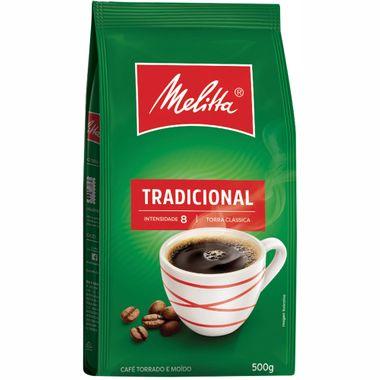 Café Tradicional Melitta 500g Cx. C/ 10 Un.