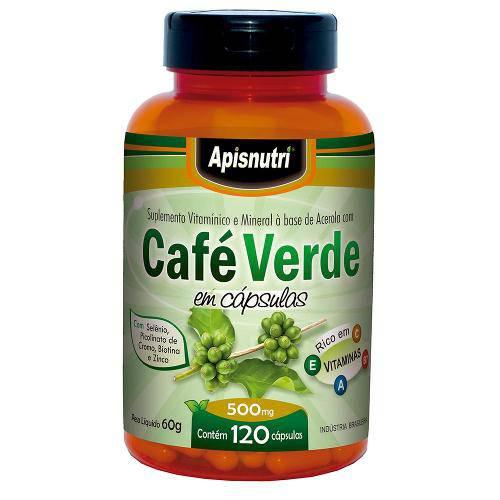 Café Verde (500mg) 120 Cápsulas