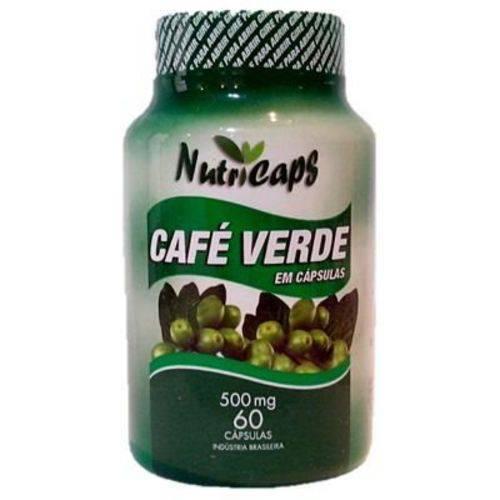 Café Verde 500mg 60 Cápsulas