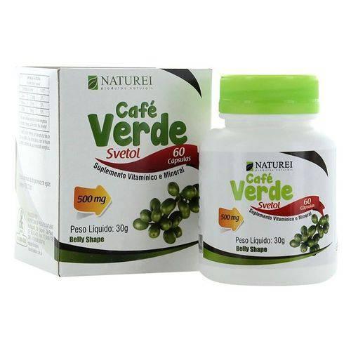 Café Verde 500mg com 60 Cápsulas