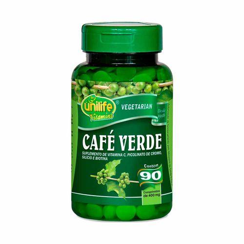 Café Verde - Unilife - 90 Comprimidos de 400mg