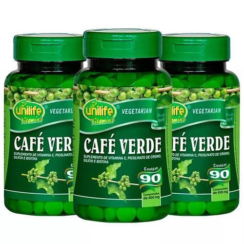 Café Verde - 3x 90 Comprimidos - Unilife