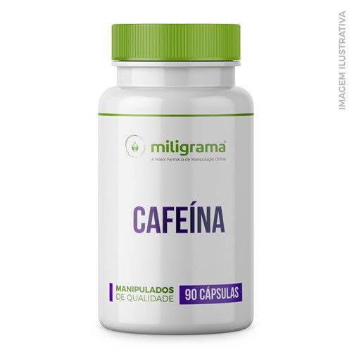 Cafeína 100mg Cápsulas - 90 Cápsulas