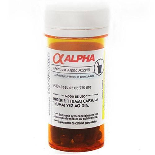 Cafeína Alpha Axcell - 30 Caps - Power Supplements