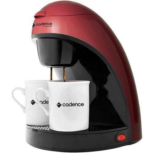 Cafeteira Cadence Single Vermelha - Modelo Anterior - 2 Xícaras