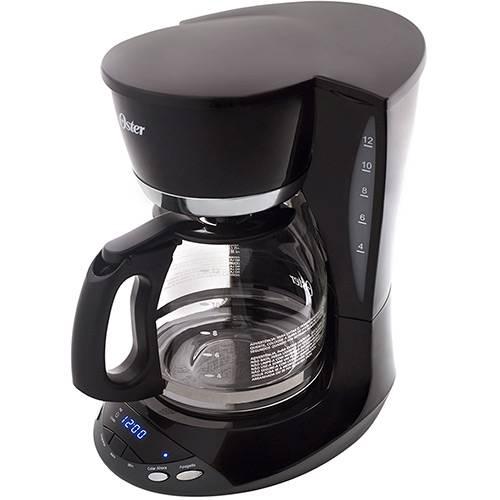 Cafeteira Elétrica Oster Programável 1,8L - Preta