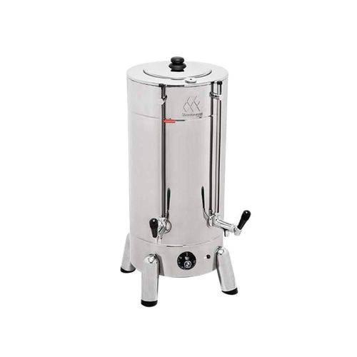 Cafeteira Elétrica Tradicional 6 Litros 1300W Aço Inoxidável Marchesoni 220v