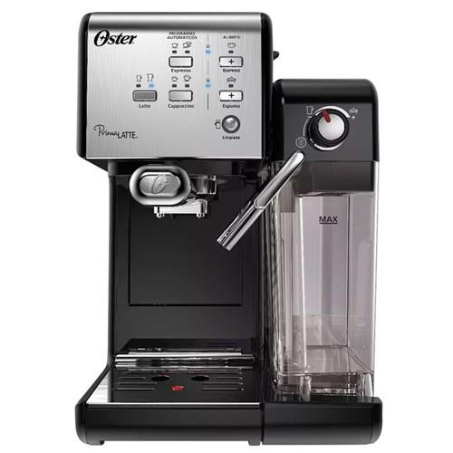 Cafeteira Espresso PrimaLatte Inox Oster 220 Volts