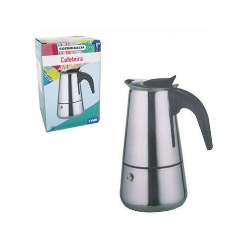 Cafeteira Italiana de Inox 450ML para 6 Xicaras FWB