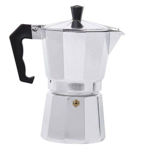 Cafeteira Italiana - Moka - 12 Xícaras - Prata