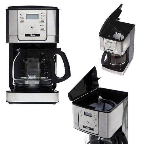 Cafeteira - Oster - Programavel 12 Xicaras 4401 Jarra de Vidro 220v - Bvstdc4401-057