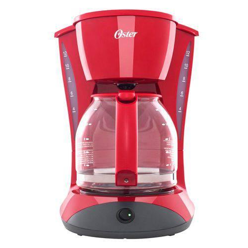Cafeteira Oster Red Cuisine, Filtro Permanente, 900w - Bvstdcdw12r