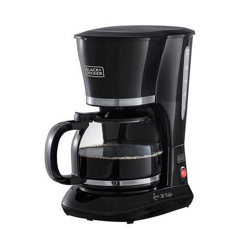 Cafeteira para 30 Cafés 800W CM301 Black+Decker - 110V