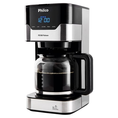 Cafeteira PCF38 1,5L Platinum 800W Philco 127 Volts