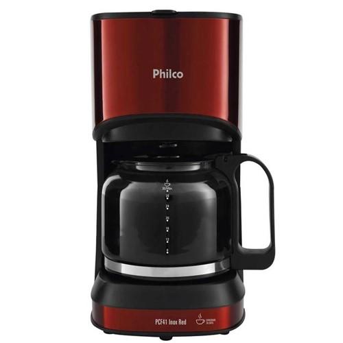 Cafeteira Philco Inox Red PCF41 220V