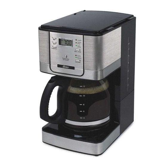 Cafeteira Programável Flavor 1,5 Litro Jarra de Vidro 127v Preto Oster