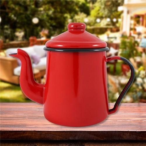 Cafeteira Tradicional Mãe Agata Ewel Vermelho Vermelho