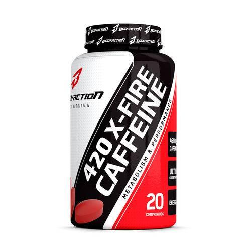 Caffeine XFire 420 20 Comprimidos BODYACTION