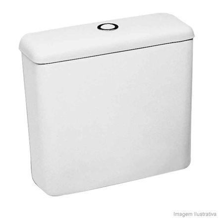 Caixa Acoplada para Bacia 3/6 Litros Ecoflush Azaléa Branca Celite